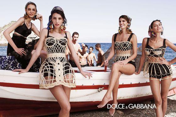 Dolce & Gabbana wiosna-lato 2013 - pełna kampania! (FOTO)