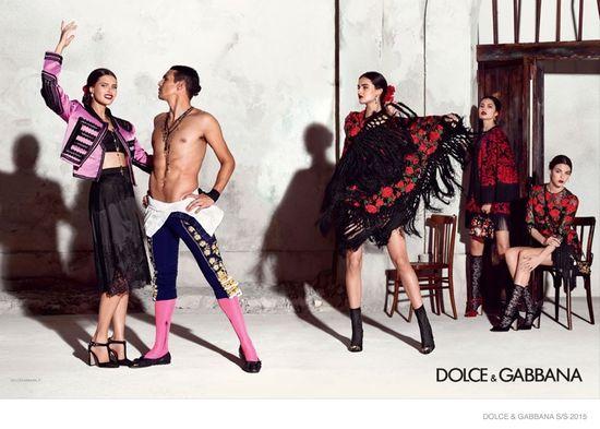 Rewelacyjna kampania Dolce&Gabbana na wiosnę 2015