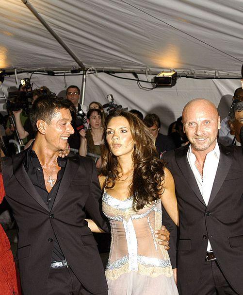 Auć! Domenico Dolce spoliczkował Victorię Beckham!
