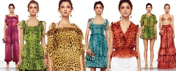 Fluo cętki od Dolce&Gabbana (FOTO)
