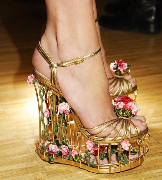 Mozaikowa kolekcja butów Dolce&Gabbana