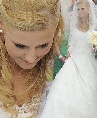 Suknia ślubna Dominiki Tajner (FOTO)