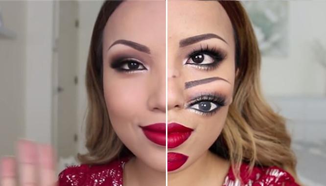 5 największych makijażowych metamorfoz (VIDEO)