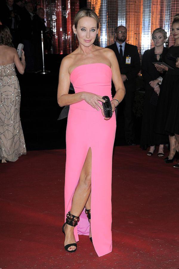 Odważne kolorowe suknie na balu fundacji TVN Nie jesteś sam