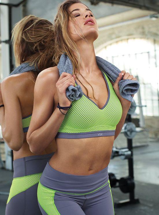 Stylowy trening Doutzen Kroes dla Victoria's Secret (FOTO)