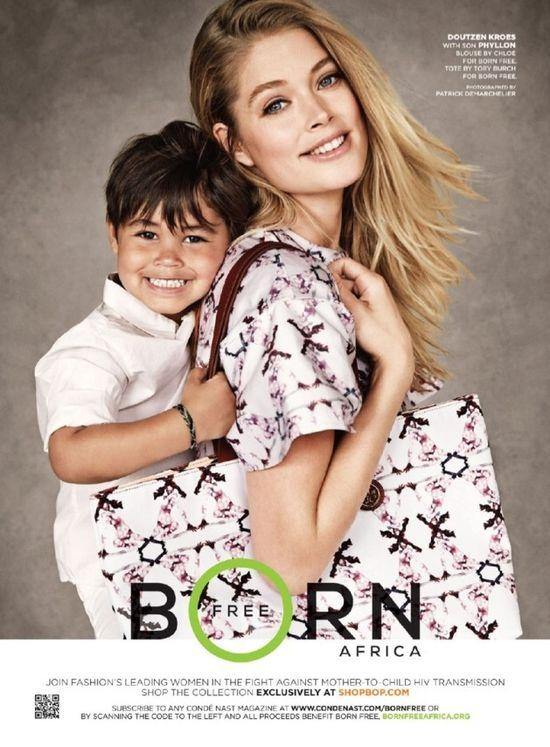 Wyjątkowa kampania z modelkami i ich dziećmi w roli głównej