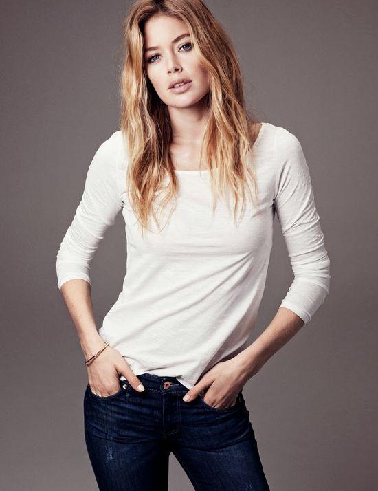 Doutzen Kroes w kampanii H&M Basic jesień 2013
