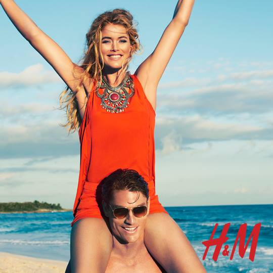 Doutzen Kroes w katalogu H&M