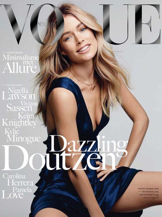 Doutzen Kroes na okładce Vogue'a