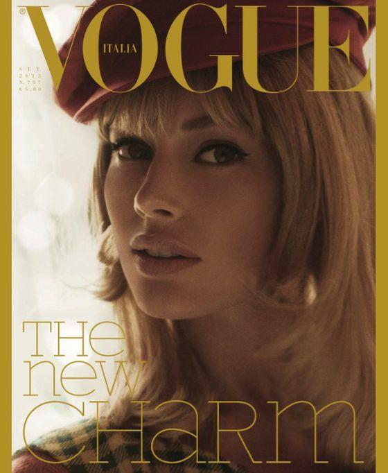 Toni Garrn i Doutzen Kroes w Vogue (FOTO)