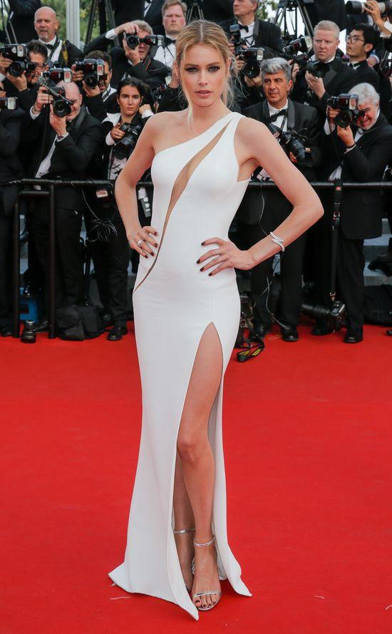 Tak na Festiwalu Filmowym w Cannes prezentowały się modelki