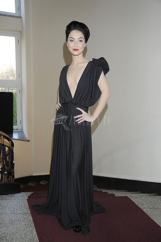 Paulina Drażba w odważnej sukni