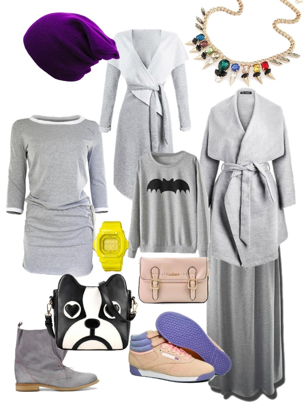 Znalezione na Allegro: moda na dresy