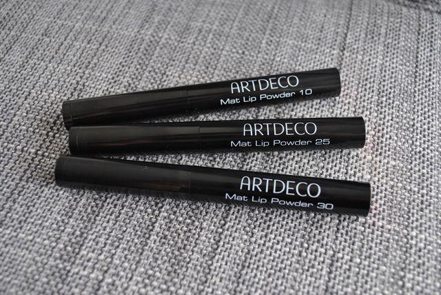 Artdeco - Matt Lip Powder - rewolucyjna szminka... w pudrze? [RECENZJA]