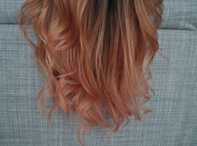 Najmodniejszy kolor włosów - rose blonde - za mniej niż 10 złotych?! [TEST]