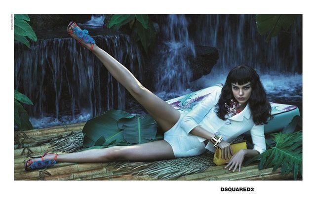 Tropikalna kampania wiosenni-letnia DSquared2  (FOTO)