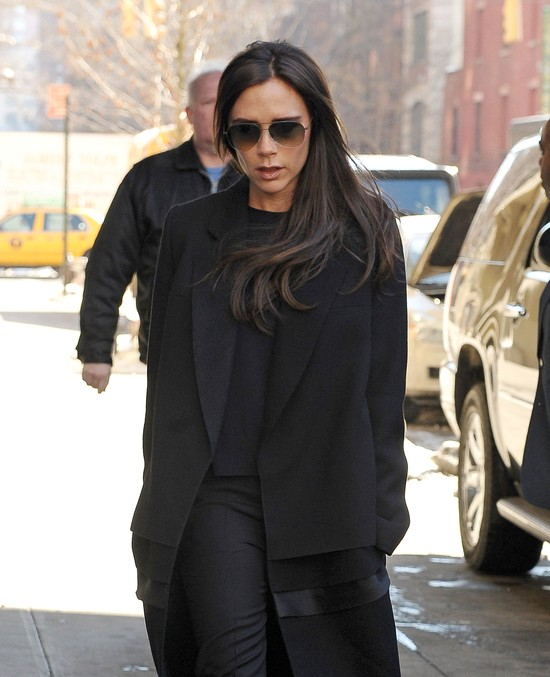 Victoria Beckham w płaskich butach - szok?