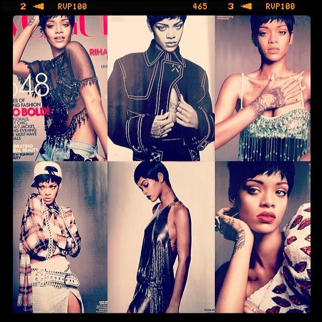 Rihanna na marcowej okładce Vogue?