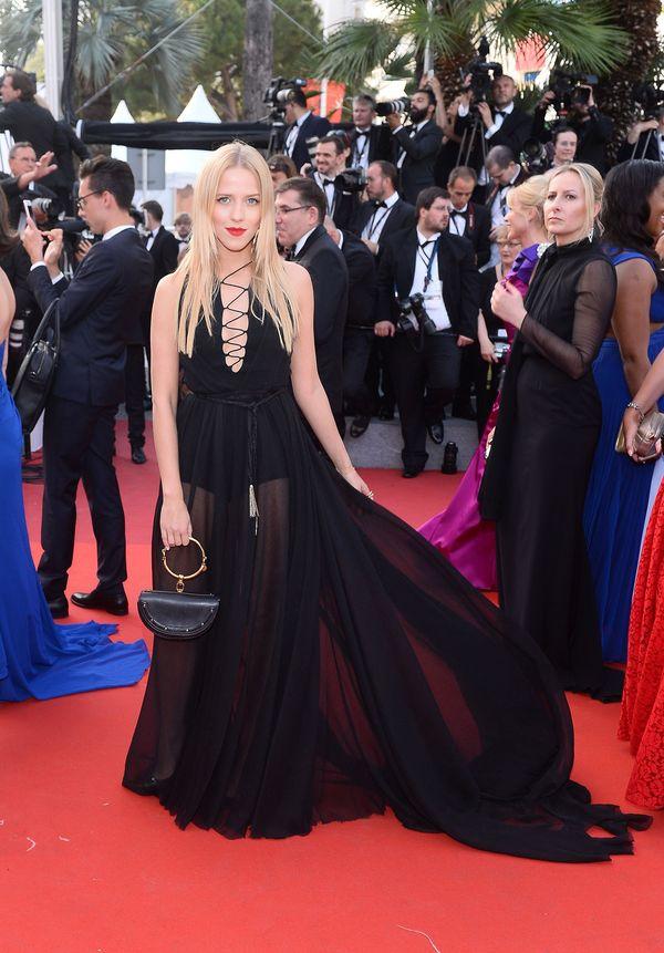 Jessica Mercedes w Cannes – nie ustępuje niczym największym gwiazdom!