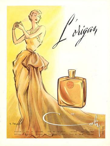 Stare reklamy perfum Coty