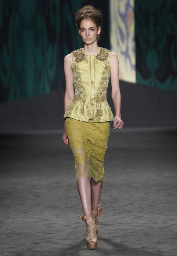Vera Wang kolekcja wiosna 2013