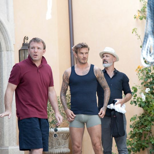 David Beckham za kulisami nowej sesji dla H&M