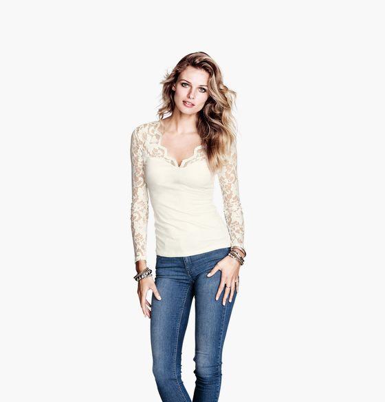 Edita Vilkeviciute we wrześniowym lookbooku H&M
