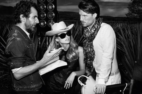 Edita Vilkeviciute w nowym katalogu Louis Vuitton