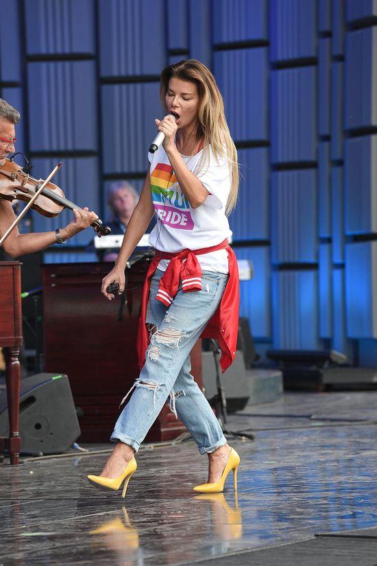 Edyta Górniak w trzech wydaniach na festiwalu w Opolu (FOTO)