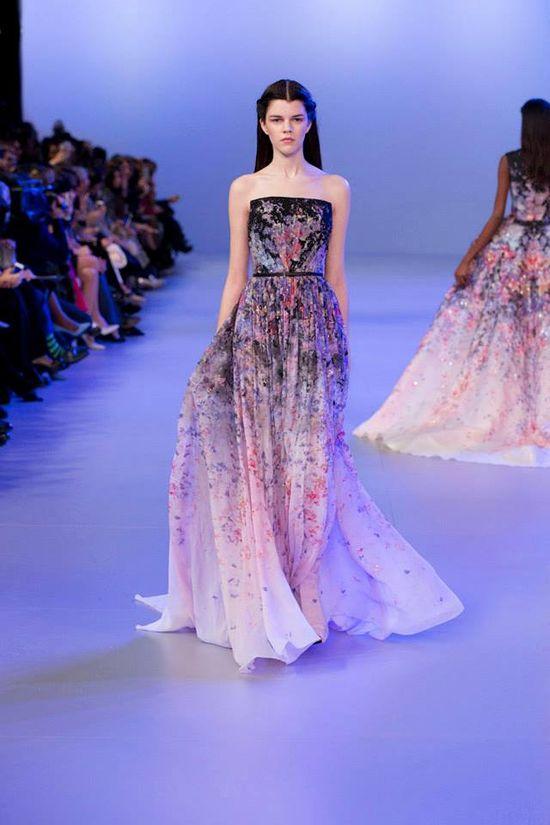 Elie Saab Haute Couture - kolekcja na wiosnę/lato 2014