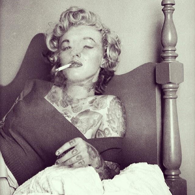 Audrey Hepburn miała tatuaże! (FOTO)