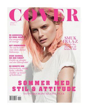 Elena Melnik na okładce Cover Magazine