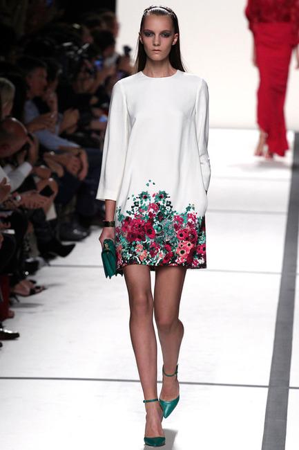Julia Roberts w sukience wiosenno-letniej kolekcji Elie Saab