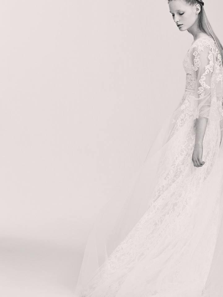 Suknie ślubne Elie Saab na wiosnę 2017 (FOTO)