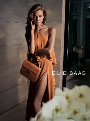 Karlie Kloss w wiosennej kampanii Elie Saab
