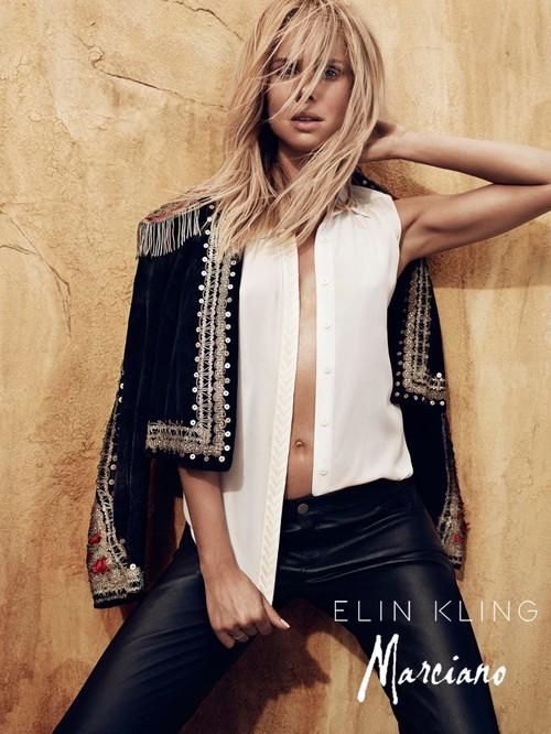 Elin Kling w sesji dla Marciano