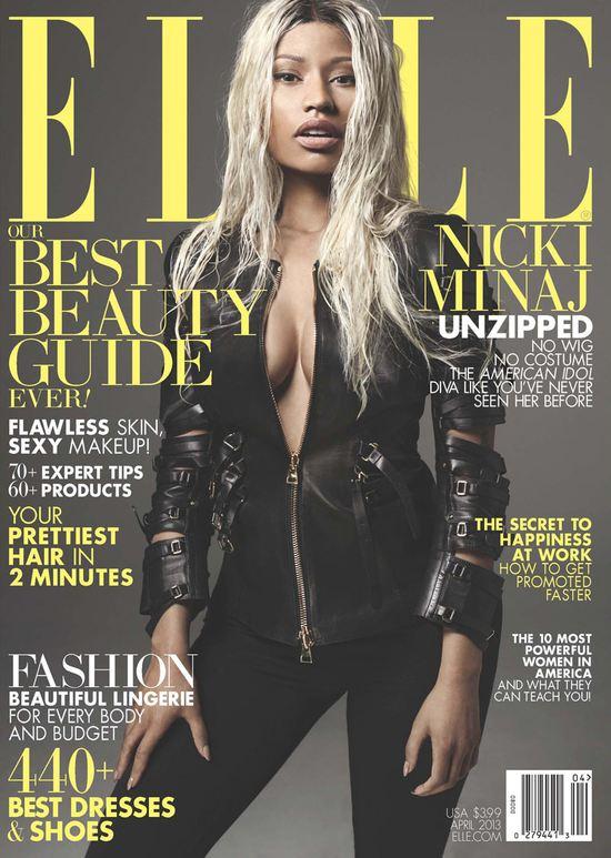 Nicki Minaj pokazała w Elle subtelniejsze oblicze