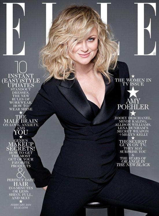 4 okładki Elle z gwiazdami telewizji