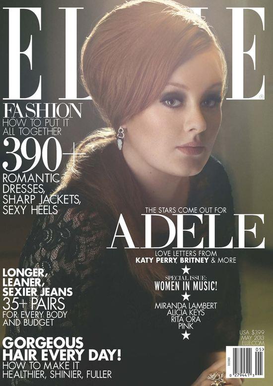 Adele na okładce Elle US