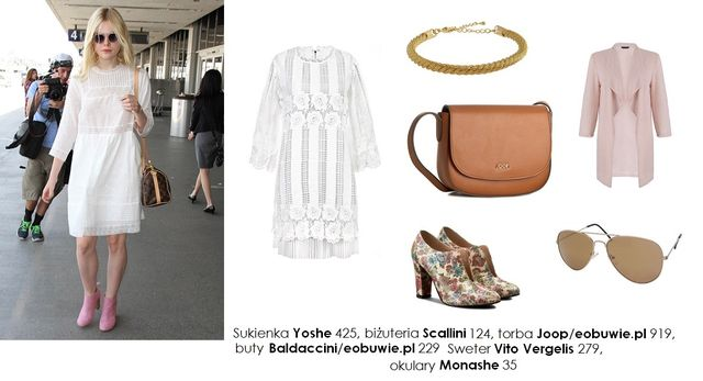 Inspiracja na lato - Cztery stylizacje w stylu Elle Fanning (FOTO)