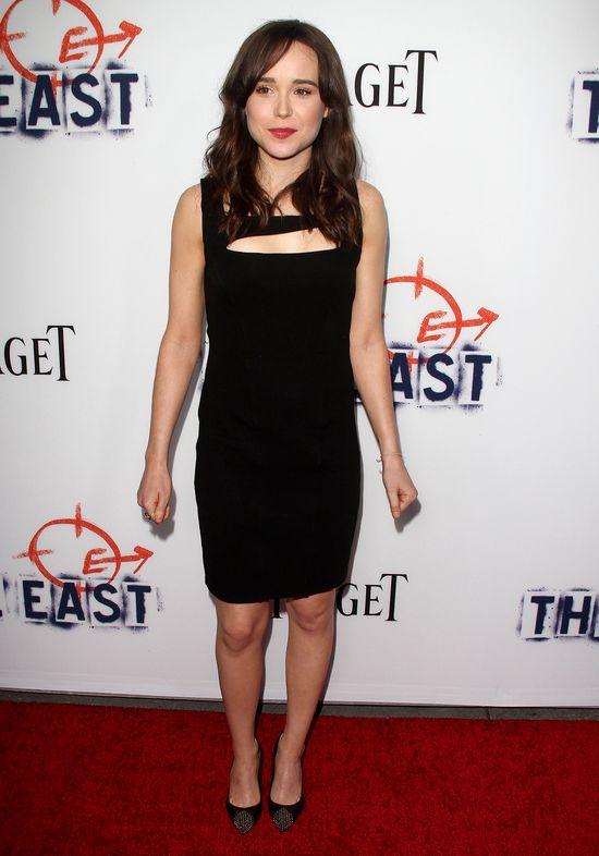 Ellen Page w małej czarnej