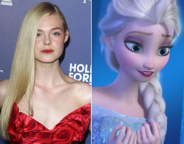 Gwiazdy, które wyglądają jak Księżniczki Disneya (FOTO)