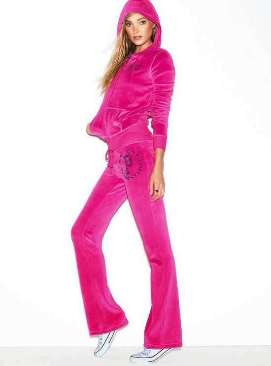 Victoria's Secret Pink lookbook z Elsą Hosk październik 2013