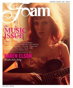 Karen Elson dla Foam Magazine
