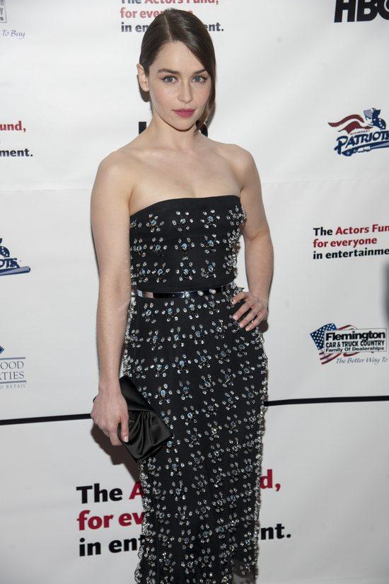 Emilia Clarke w sukni Christiana Diora (FOTO)