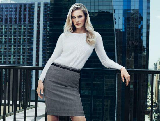 Emily Baker dla H&M - biurowy styl na jesień-zimę 2013/14