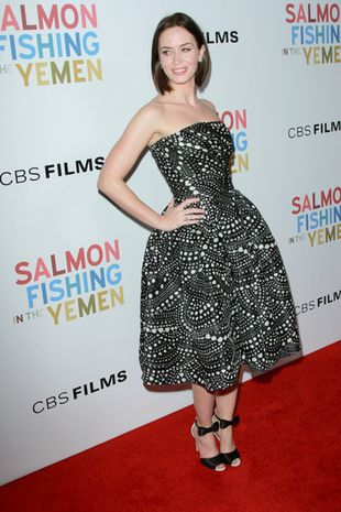 Emily Blunt w sukience Naeem Khan (FOTO)