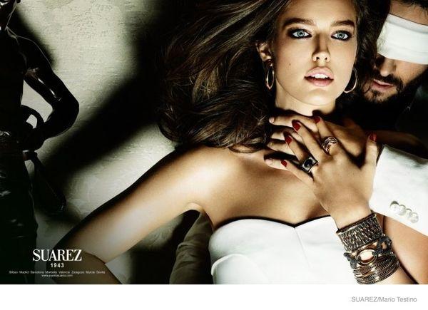 Diane Kruger i Emily DiDonato w kampanii biżuterii (FOTO)