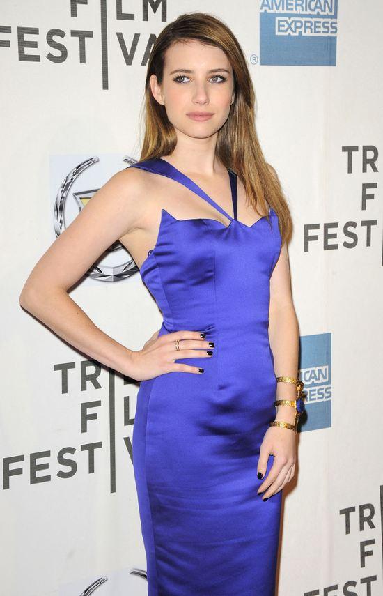 Emma Roberts w sukience Cushnie Et Ochs