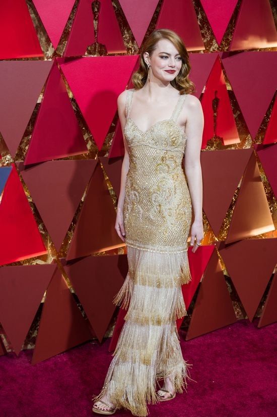 Tak, kreacja Emmy Stone z oscarowej gali spełnia WSZYSTKIE oczekiwania (FOTO)